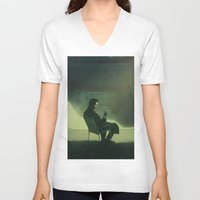 breaking bad V-neck T-shirts featuring Breaking Bad by yurishwedoff