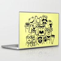 muppet Laptop & iPad Skins featuring Muppet line by BlackBlizzard