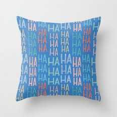 Pattern Project #9 / Funny Pattern Throw Pillow