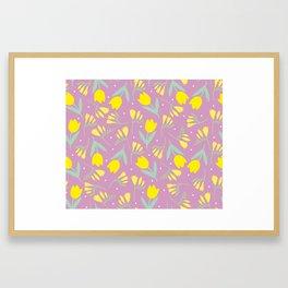 Tulip & Freesia Framed Art Print