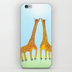 Unicorn Giraffes iPhone & iPod Skin