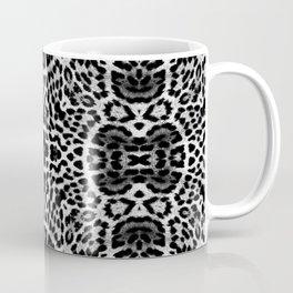 abstract animal print grayscale Coffee Mug