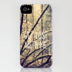 GET LOST WITH ME  iPhone (4, 4s) Slim Case