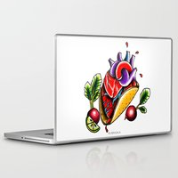 taco Laptop & iPad Skins featuring Taco  by alxbngala