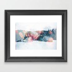 Winter Paint Framed Art Print