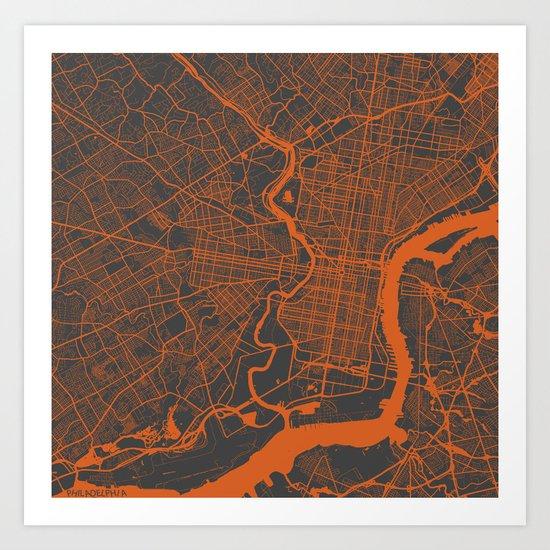 Philadelphia 2 Art Print