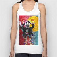 liverpool Tank Tops featuring Liverpool–You'll Never Walk Alone by Silvia Qian