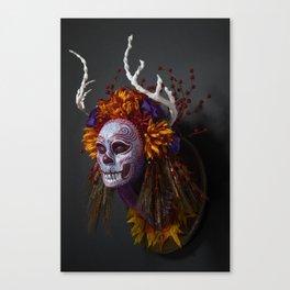 Autumn Muertita Side Canvas Print