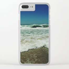 Ocean Layers Clear iPhone Case