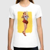sailor venus T-shirts featuring Sailor Venus by KlsteeleArt