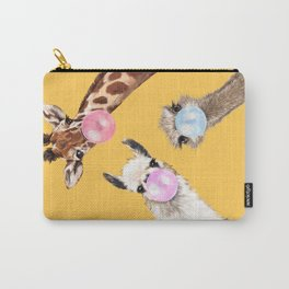 Bubble Gum Gang in Yellow Carry-All Pouch