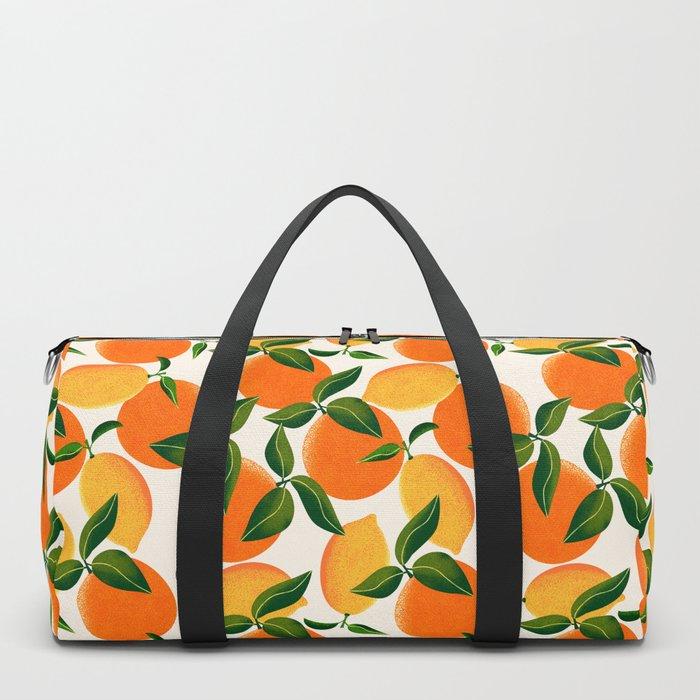Oranges and Lemons Duffle Bag