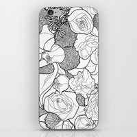 tapestry iPhone & iPod Skins featuring Tapestry by Madame Mim