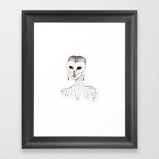 The Masquerade: The Owl Framed Art Print