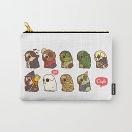 Puglie Halloween Carry-All Pouch