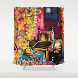 Tea With Gypsies Shower Curtain