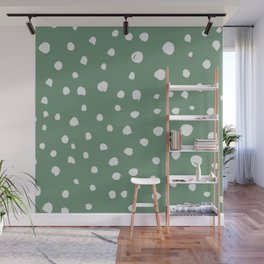 Dotted Lush Wall Mural