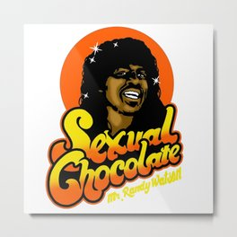 sexual chocolate merch Metal Print