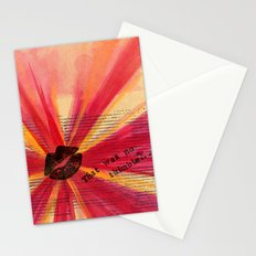 Valentine Thimble Stationery Cards
