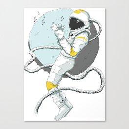 Astronaut Miles Canvas Print