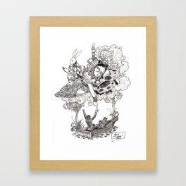 Dreaming Alice Framed Art Print