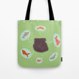 Grizzly dreams Tote Bag