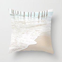 Huntington Beach Wave // California Ocean Sandy Beaches Surf Country Pacific West Coast Photography Throw Pillow