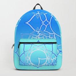 Lotus Mandala (Blue) Backpack