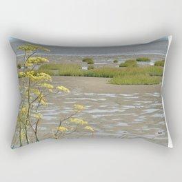 Mudflats and Fennel Rectangular Pillow
