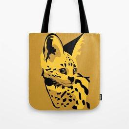 Serval Tote Bag