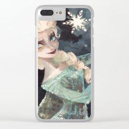 Elsa Waterhouse Clear iPhone Case