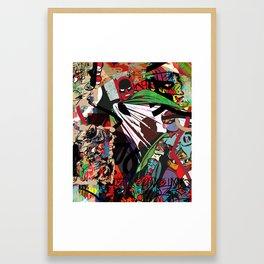 Crime City Framed Art Print