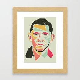 Barack Obama Framed Art Print
