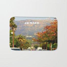 Make Jesus Famous Bath Mat