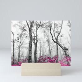 Princess Pink Forest Garden Mini Art Print