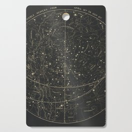 Vintage Astronomical & Celestial Map (1850) Cutting Board