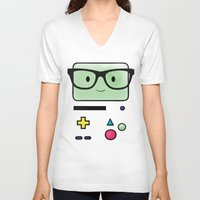 bmo V-neck T-shirts featuring BMO  by Diore-Château