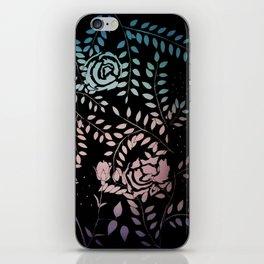 Gradient Roses iPhone Skin