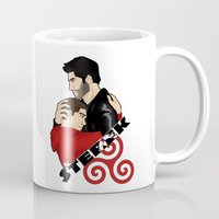 sterek Mugs featuring Sterek by adorible