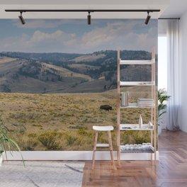 Yellowstone Bison Wall Mural