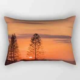 Kings Beach Sunrise Rectangular Pillow