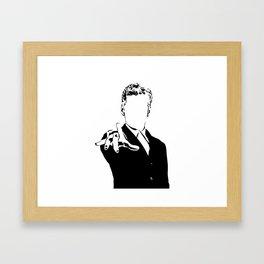 12th Dr Who Framed Art Print