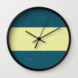 Vintage Flag Wall Clock