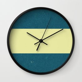 Vintage Flag Wall Clock