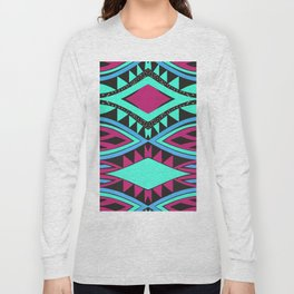 Ovals and rhombus Long Sleeve T-shirt