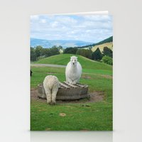 alpaca Stationery Cards featuring Alpaca by PeteJoey