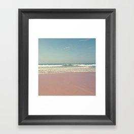Sea waves 5 Framed Art Print