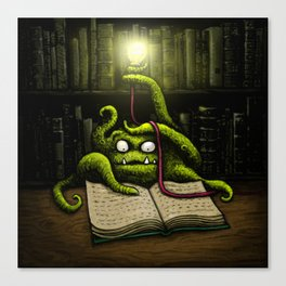 Octobook Canvas Print