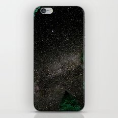 Lake Tahoe Milky Way iPhone & iPod Skin