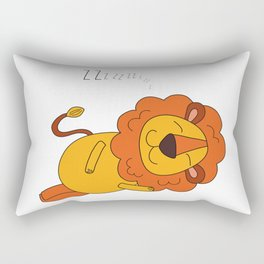 Lion Sleeps Tonight Rectangular Pillow